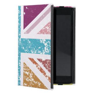 Capa iPad Mini Bandeira de união afligida colorido