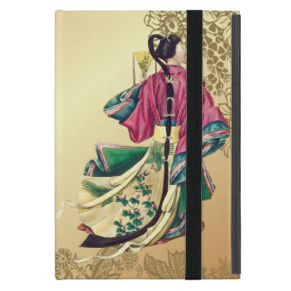 Capa iPad Mini Beleza oriental no ouro