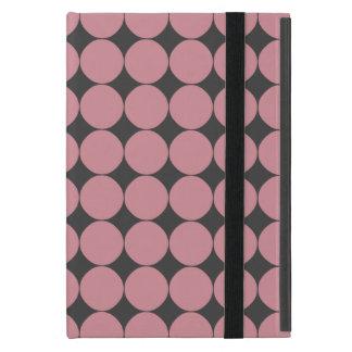 Capa iPad Mini Bolinhas cor-de-rosa à moda modernas
