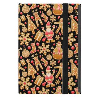 Capa iPad Mini Boneco de neve de Rudolph da árvore de Claus do