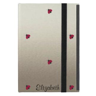 Capa iPad Mini Bonitos adorável, joaninhas,