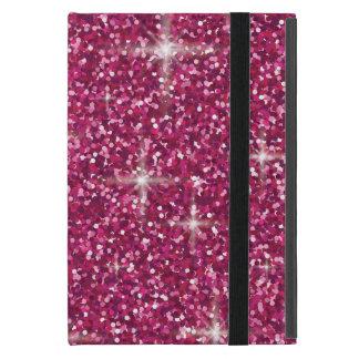Capa iPad Mini Brilho iridescente cor-de-rosa