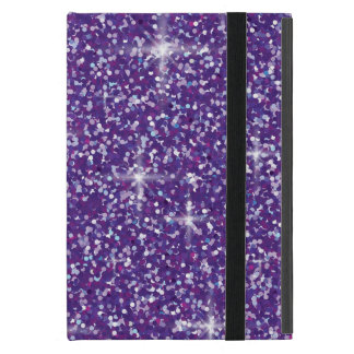 Capa iPad Mini Brilho iridescente roxo