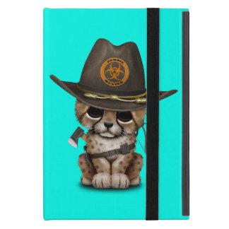 Capa iPad Mini Caçador bonito do zombi de Cub da chita