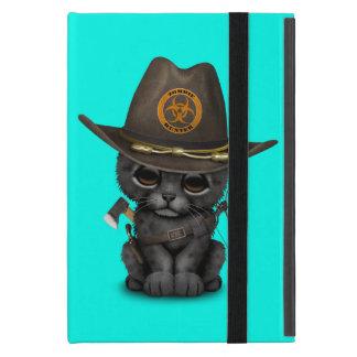 Capa iPad Mini Caçador bonito do zombi de Cub da pantera preta