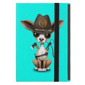 Capa iPad Mini Caçador bonito do zombi do filhote de cachorro da