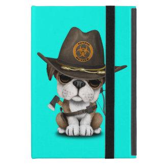 Capa iPad Mini Caçador bonito do zombi do filhote de cachorro do