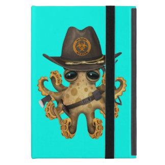 Capa iPad Mini Caçador bonito do zombi do polvo do bebê