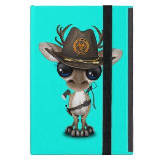 Capa iPad Mini Caçador do zombi da rena do bebê