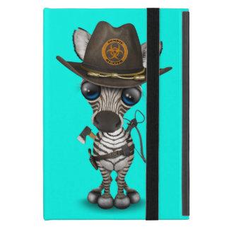 Capa iPad Mini Caçador do zombi da zebra do bebê
