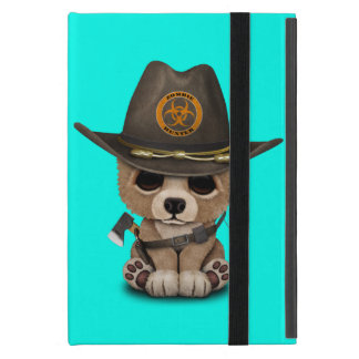 Capa iPad Mini Caçador do zombi de Cub de urso do bebê