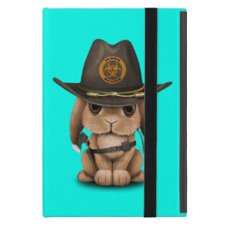 Capa iPad Mini Caçador do zombi do coelho do bebê