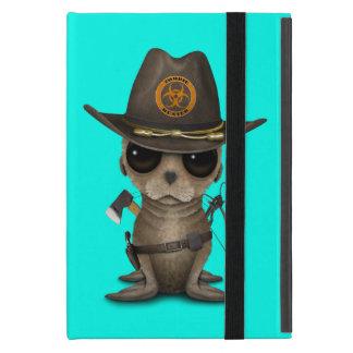 Capa iPad Mini Caçador do zombi do leão de mar do bebê