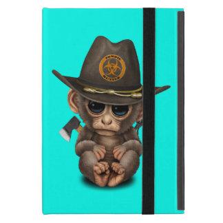 Capa iPad Mini Caçador do zombi do macaco do bebê