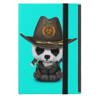 Capa iPad Mini Caçador do zombi do urso de panda do bebê