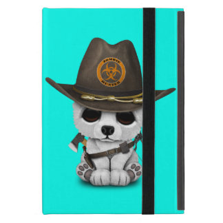 Capa iPad Mini Caçador do zombi do urso polar do bebê