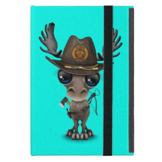 Capa iPad Mini Caçador do zombi dos alces do bebê