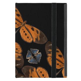 Capa iPad Mini Caixa azul & alaranjada bonita da tabuleta da