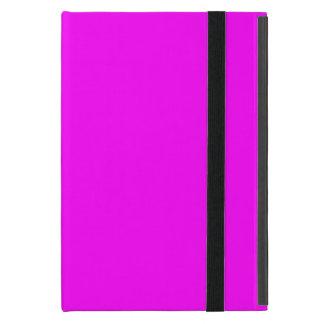 Capa iPad Mini caixa fúcsia roxa do iPad