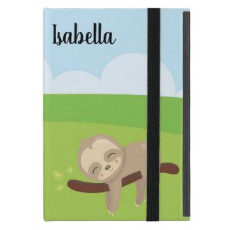 Capa iPad Mini Caixa personalizada de Ipad da preguiça sonolento