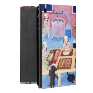 Capa iPad Mini Caixa personalizada do ipad da padaria de Labrador