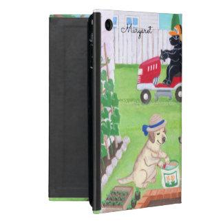 Capa iPad Mini Caixa personalizada do ipad de Labradors do