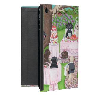 Capa iPad Mini Caixa personalizada do ipad do casamento de