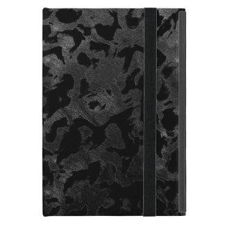 Capa iPad Mini Camuflagem cinzenta preta e escura de Camo moderno