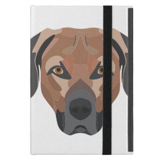 Capa iPad Mini Cão Brown Labrador da ilustração