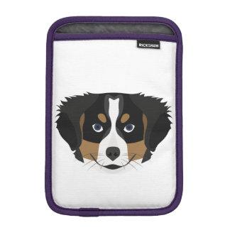 Capa iPad Mini Cão de montanha de Bernese da ilustração