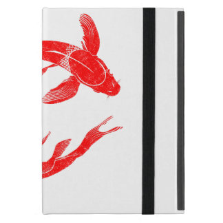 Capa iPad Mini Carpa vermelha dos peixes de Koi