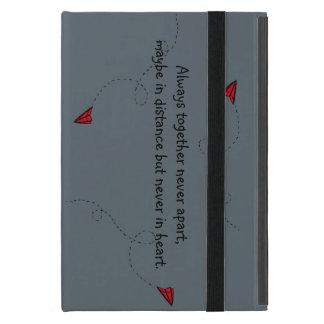 Capa iPad Mini casco Ipad mini avião de papel