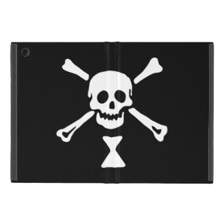 Capa iPad Mini Caso alegre do iPad da bandeira de pirata de