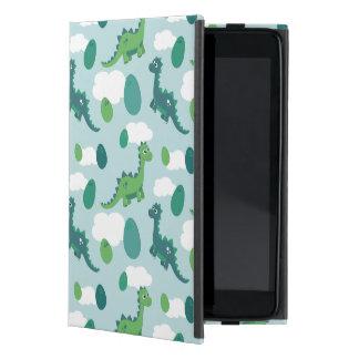 Capa iPad Mini Caso bonito do iPad dos dinossauros e dos ovos
