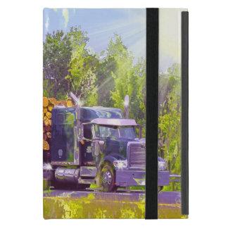 Capa iPad Mini Caso de registo do iPad do caminhão do motorista