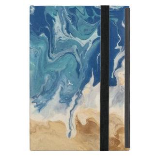 Capa iPad Mini Caso do iPad abstrato da praia mini (nenhum