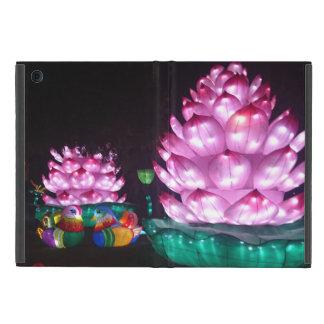 Capa iPad Mini Caso do iPad da flor das luzes mini sem Kickstand