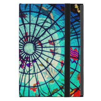 Capa iPad Mini Caso do ipad da vida do oceano do vitral mini