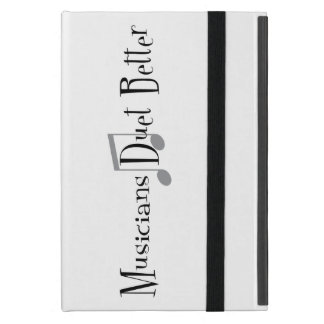 Capa iPad Mini Caso do iPad do dueto (notas)
