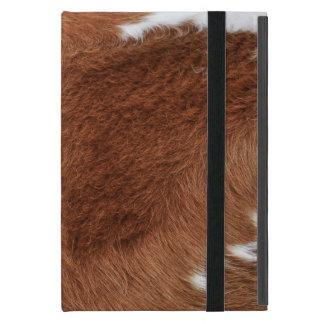 Capa iPad Mini Caso do iPad do iCase de Powis da pele da vaca