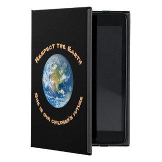 Capa iPad Mini Caso do iPad futuro da terra do planeta do