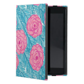 Capa iPad Mini Caso do iPad tropical das folhas de palmeira e das