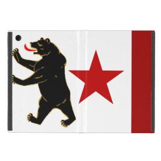 Capa iPad Mini Caso histórico do iPad da bandeira de Califórnia