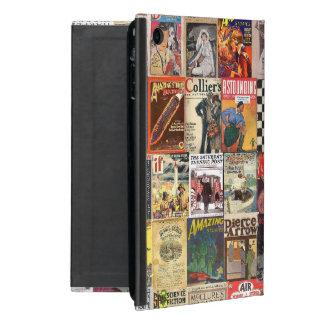 Capa iPad Mini Caso literário do ipad dos compartimentos