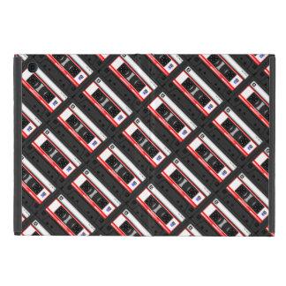 Capa iPad Mini Cassete de banda magnética da velha escola