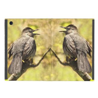 Capa iPad Mini Catbirds cinzentos do canto iPad mini caso