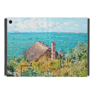 Capa iPad Mini Claude Monet a cabine em belas artes do