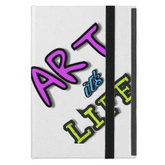 Capa iPad Mini Cobrir brilhante para a arte do iPad é vida