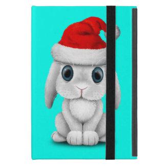 Capa iPad Mini Coelho branco do bebê que veste um chapéu do papai
