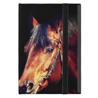 Capa iPad Mini coleção do cavalo. Trakehner